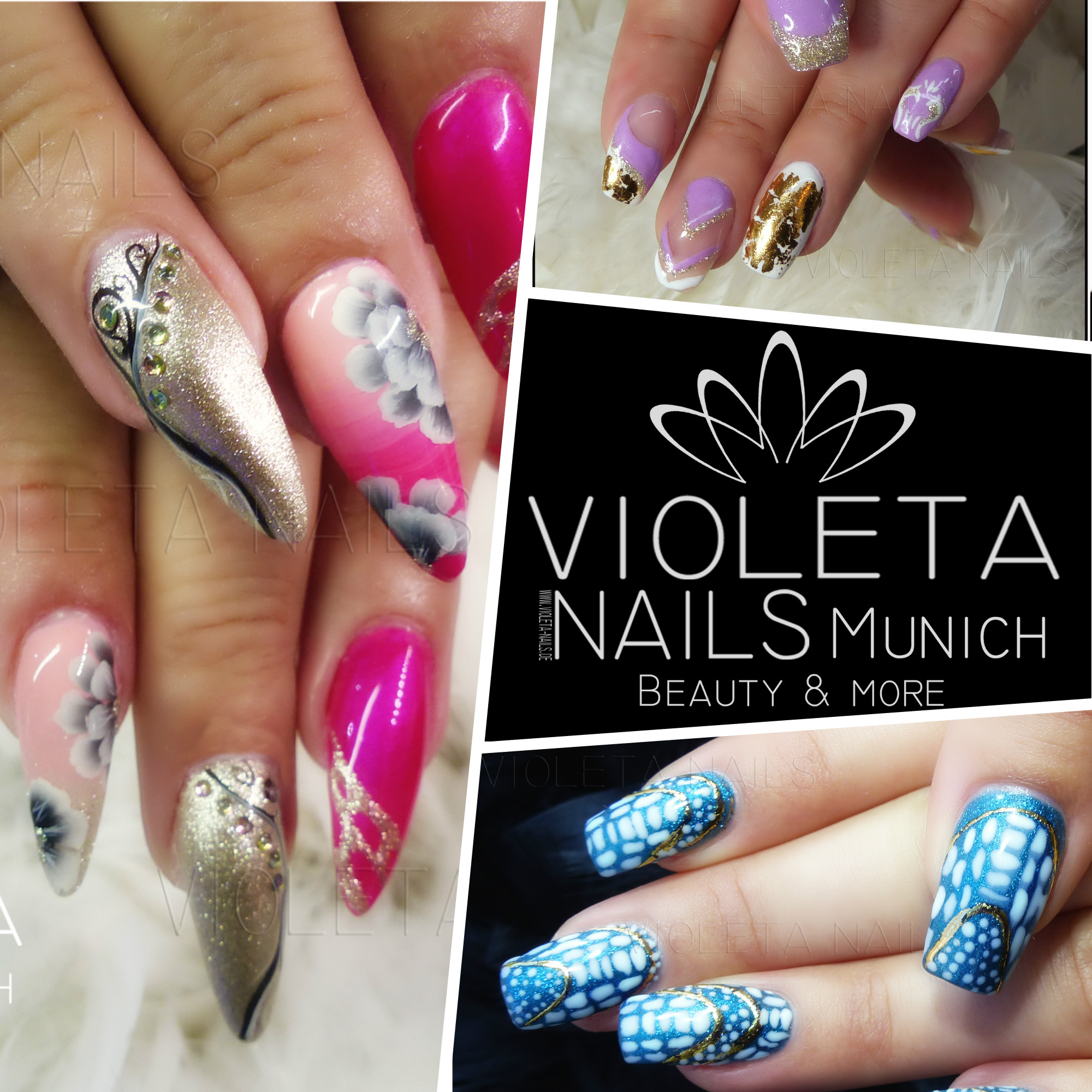Ihr Nagelstudio In Munchen Nagelstudio Violeta Nails