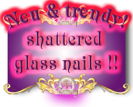 shattered glass nails